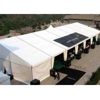 Customized Big Outside Event Tents PVC Structure Exhibition Tent For Canton Fair Manufactures