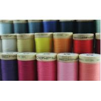 High quality 100% spun polyester dyed cotton sewing thread for bed sheet Manufactures