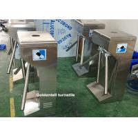 China Drop Arm Coin And Token Controlled Access Turnstiles For Amusement Park on sale