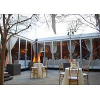 Quality Aluminum Clearspan Structrue Canopies Roof Transparent Outside Wedding Tents for sale