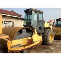 Dynapac CA25Second Hand Road Roller , Pull Behind Rubber Tire Roller For Sale Manufactures