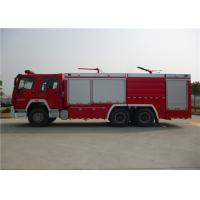 Dry Powder / Foam Fire Service Truck , Piston Primer Pump Modern Fire Truck Manufactures