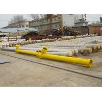 Small Flexible Cement Screw Conveyor Industrial Screw Conveyors For Power Manufactures
