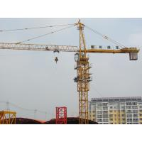 5 - 35 m/min Hoisting Speed Small Tower Cranes For Construction CE / ISO9001 Manufactures