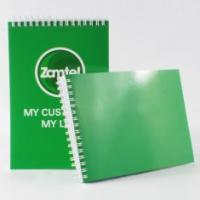 Quality Spiral Softcover Notebook Glossy Custom Notepad Printing Online for Promotion for sale