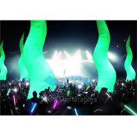 Quality Durable Led Inflatable Stage Decoration , 210D Ripstop Fabric Standing for sale