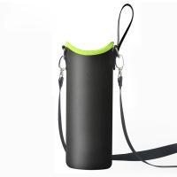 Portable Neoprene 900ml Water Bottle Sleeve With Strap Manufactures