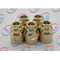 Durable Brass Joints CNC Turning And Milling Process 14.5mm X 20.5mm Size Manufactures