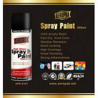 High Glossy Aerosol Spray Paint , Wide Coverage Automotive Aerosol Paint Manufactures