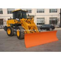 ZL936 Small Wheel Loader Modular Structure 92KW Rated Power And 28% Gradeability Manufactures