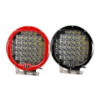 185W 9 Inch Led Car Spotlights , IP 68 Round Led Spot Light Fixtures Manufactures