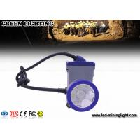 Customized Safety Coal Mining Light with Rechargeable 6.6Ah Lithium Ion Battery Manufactures