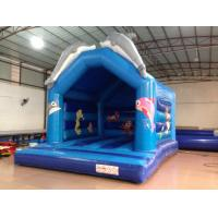 Buy cheap Lovely Dolphins Kids Inflatable Bounce House With Dolphins Modelings from wholesalers