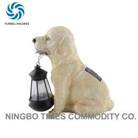 Fashion Outdoor Solar Dog Lights , Animal Solar Lights For Garden Lighting Manufactures