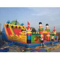 PVC Material Children Inflatable Playground Slide Castle Type Bouncy Castle Games Manufactures