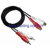 RCA Cable 2 RCA Male To RCA Female