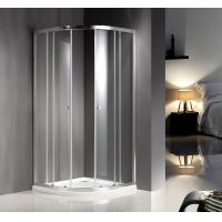 Waterproof Modern Quadrant Round Shower Enclosure CE SGS Certification Manufactures