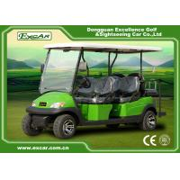 Buy cheap Excar CE approved 6 seat Electric golf car,48V Trojan battery golf buggy car from wholesalers