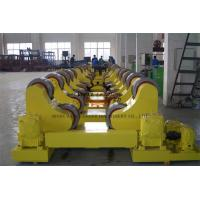 Boiler Conventional Welding Rotator , 10 Ton Pipe Rollers For Welding Manufactures