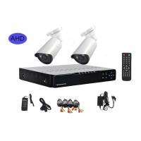 Outdoor Home CCTV Security Camera Systems , 2 Camera Security System With Monitor Manufactures