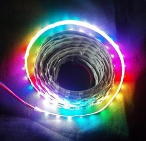72leds/m high brightness ws2811 digital led strip lights Manufactures