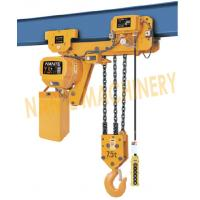 Quality 7.2 m / Min Max Lifting Speed 10 Ton Electric Chain Hoist For Single / Double for sale