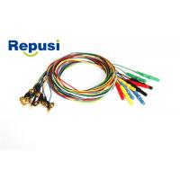 REP21 EEG cup Electrode 10mm size 1.2mm / 2.0MM wire diameter Manufactures