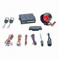 One-way Car Alarm System with Ultrasonic Sensor and Blue Super Bright LED Indicator Manufactures