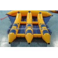 Summer Crazy Inflatable Towables Boat Flying Fish For Surfing Water Games Manufactures