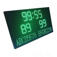 China LED Football Scoreboard Display with Wireless Controller and 220V/110V AC power on sale