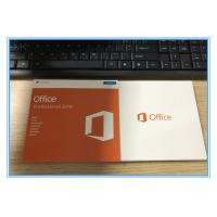 Genuine Key Card Microsoft Office 2016 Professional RETAIL BOX SKU-269-16808 Manufactures
