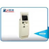 Automatic library kiosk with thermal printer card , self service computer kiosk Manufactures