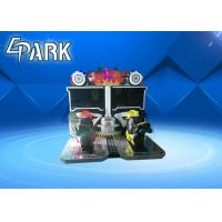 42 Inch Flaming Motorcycle Racing Arcade Machine / Amusement Park Equipment Manufactures