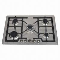 Stainless Steel Gas, Built-in Hob with 5 Burners Manufactures