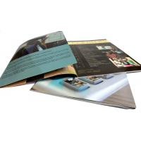 4p, 250gsm C2S art paper, matt lamination for the cover marketing Printing Trade Magazines Manufactures