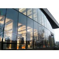 Quality Innovative Design Aluminum Curtain Wall , Visible Unitized Glass Curtain Wall for sale