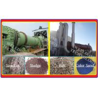 Titanium Industrial Rotary Dryer , 1 - 80Ton Sawdust Rotary Drum Dryer Manufactures