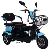 China Red Handicapped Three Wheel Motorcycle 6.8L Fuel Tank Disc Brake Max 50km/H on sale
