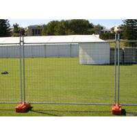 Steel Austrilia Portable Temporary Fencing 2.4x2.1 Meter Customized Manufactures