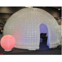 Giant White Dome Inflatable Party Tent , Family Wedding Tents 8 *5 * 4 Manufactures