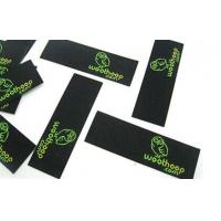 high quality No MOQ direct factory cheap wholesale hot sale new custom damask woven labels Manufactures