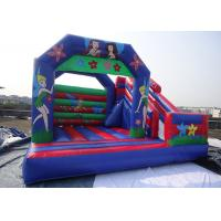 Castle Type Inflatable Princess Castle With Slide / Inflatable Jumping Castle For Kids  Manufactures