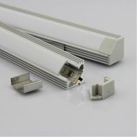 Quality OEM 30w Extrusion Aluminium LED Profiles Heatsink Cooling For Led Strip / Light for sale
