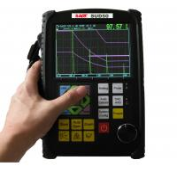 Quality Portable Ultrasonic Digital Flaw Detector SUD50 Microprocessor-Based for sale