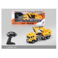 China 27 MHz Frequency Mini RC Remote Control Excavator Toy For Kids Role Play on sale