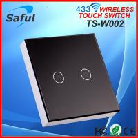 China High intensity electrical appliances control wireless electric wall light switch on sale