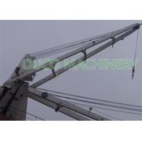 Heavy Duty Hydraulic Marine Crane 26T 37m Excellent Positioning Performance Manufactures