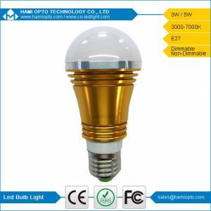 Dimmable High Lumen Warm White E27 E14 3W LED Bulb Light, LED Light bulb AC85-265V Manufactures
