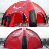 Red Inflatable Event Tent Manufactures