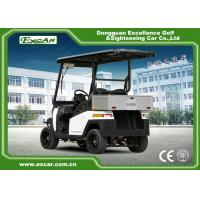 Buy cheap EEC 2 Passenger Electric Golf Carts , Motorized Golf Buggy With ADC 3.7kw Motor from wholesalers